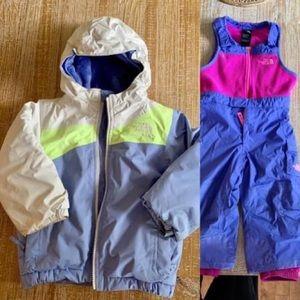 North Face Snow Suit 2T ⛄️